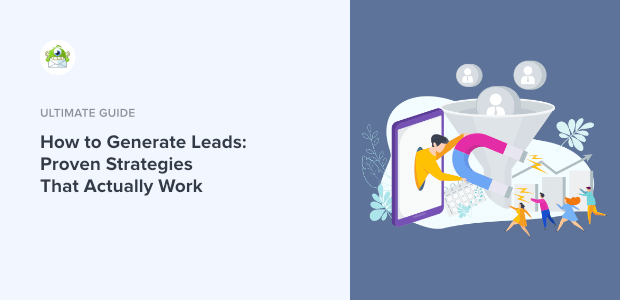 how to generate leads featured image