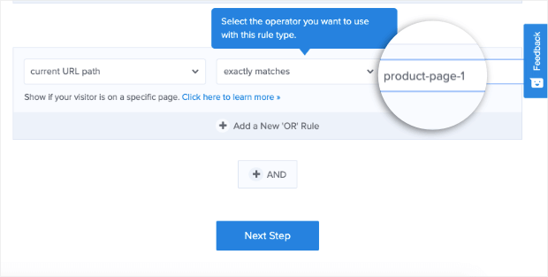add url slug to your campaign