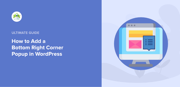 how to add a bottom right corner popup in wordpress featured image