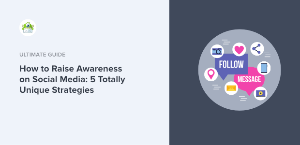 how to raise awareness on social media featured image